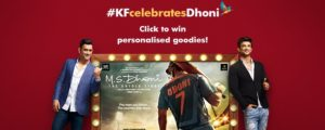 Kingfisher promotes M.S. Dhoni: The Untold Story