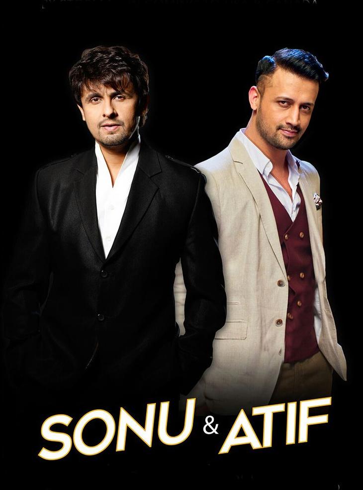Sonu and Atif