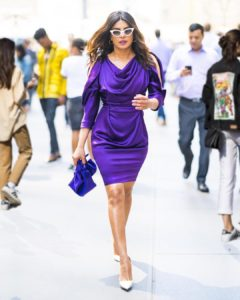 priyankachopra purple dress