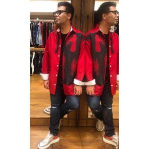 karanjohar Red nights jacket
